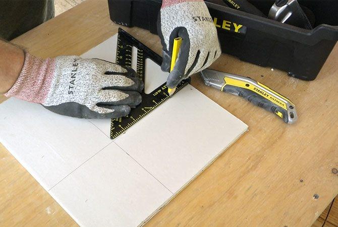 Minden, amire a gipszkartonozásnál szükség lehet - Gipszkarton javítása, STANLEY szerszámokkal