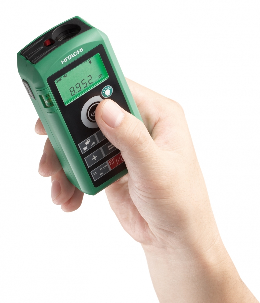 Miért használjunk lézeres távolságmérőt? - Hitachi lézeres távolságmérő