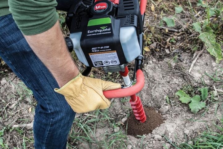 Talajfúrás ültetéshez, kerítéstelepítéshez